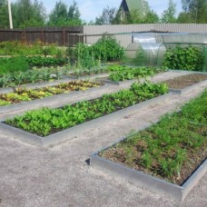 Грядка оцинкованная «Урожайная» (3,9 х 1 метр)