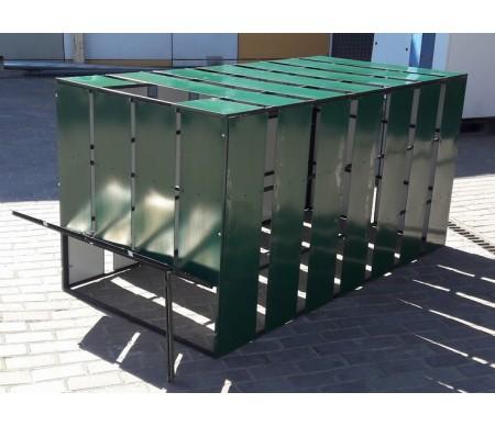 Ящик для компоста 1,0*2,0*1,0 метр, объем 2000 литров.