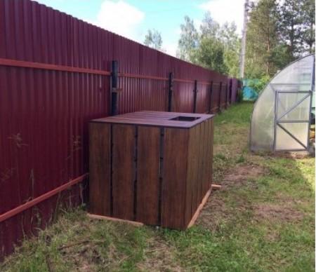 Ящик для компоста 1,0*2,0*1,0 метр , объем 2000 л.